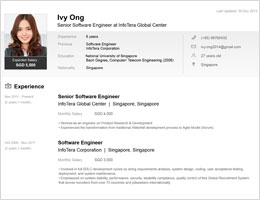 Resume Sample Resume At Jobstreet jobstreet com singapore find your dream job anytime anywhere coms new resume highlights skills and strengths that employers focus on now with easy to edit sections you can have